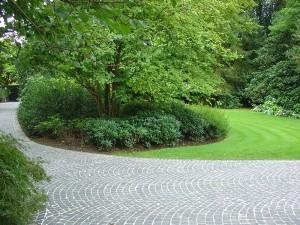 Parking in gepolierd beton geralds grimbergen waterloo - Decoratie jardin terras ...
