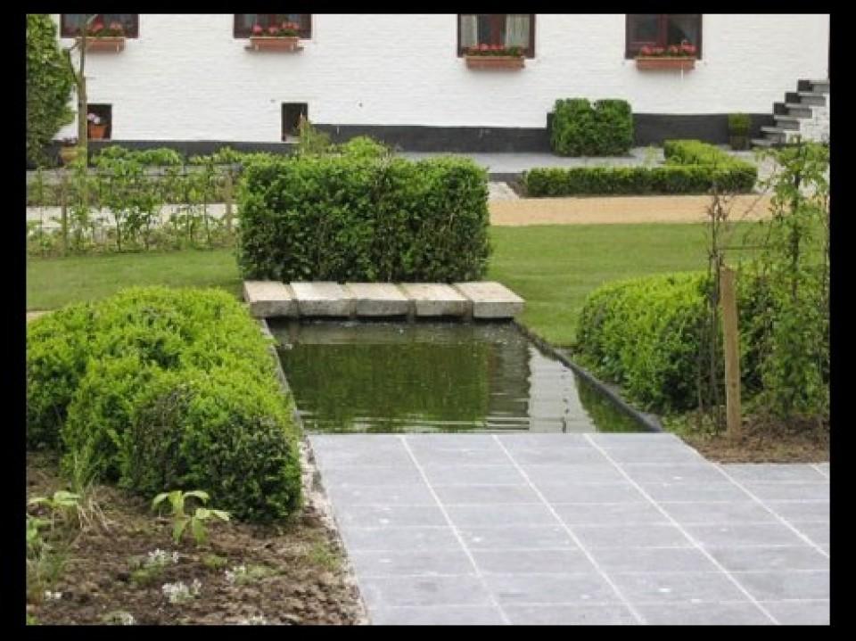 Tuinaanleg verzorgd kraainem ukkel - Decoratie jardin terras ...