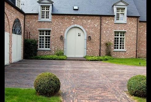 Klinkers bij ELS-Garden Antwerpen,