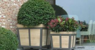 bac een houten bloem Bloembakken Ukkel Bloembakken Ukkel OUT STANDING 310x165