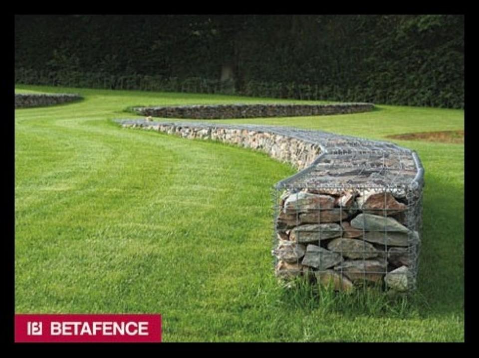 schanskorven en stenen muren door betafence Schanskorven en stenen muren door Betafence gabions mur en pierre mur decoratif hobbylant5 960x600