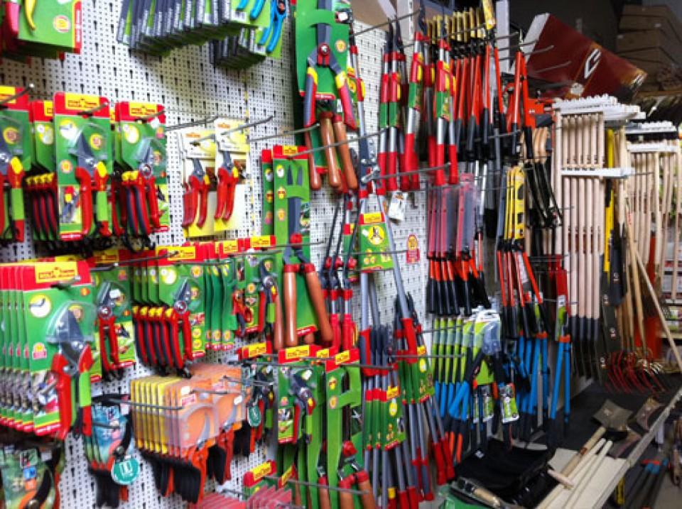 gereedschappen bij groendekor tuincentrum Gereedschappen bij Groendekor hobbylant gamme outils et machines de jardin2 960x600