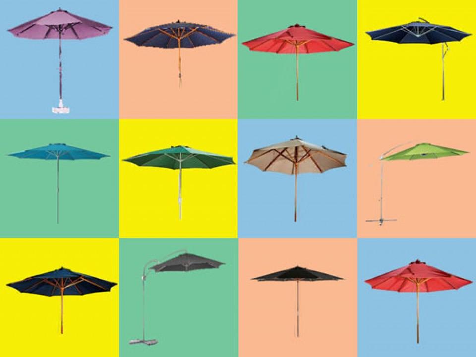 Zonneschermen bij Zonnewende Zonneschermen bij Zonnewende hobbylant les parasols et tonnelles cross2 960x600