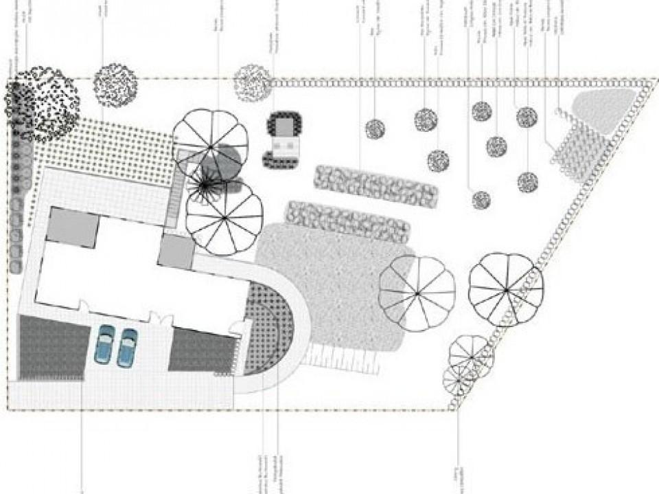Tuinontwerp Brabant, Tuinontwerp Brabant: Geralds plan amenagement de jardin avec geralds6 960x600