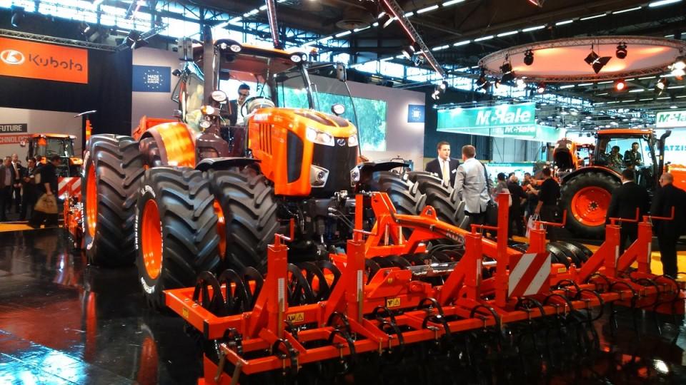 kubota-landbouwtractornieuw, prijs Een nieuwe landbouwtractor van Kubota tracteur agricole kubota neuf 960x600