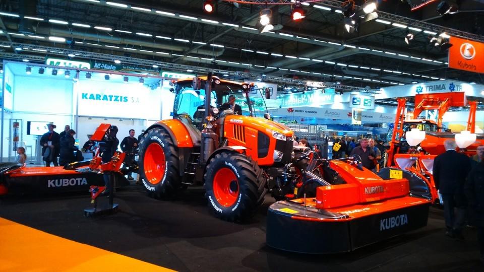 kubota-landbouwtractornieuw, prijs Een nieuwe landbouwtractor van Kubota tracteur agricole kubota neuf2 960x600