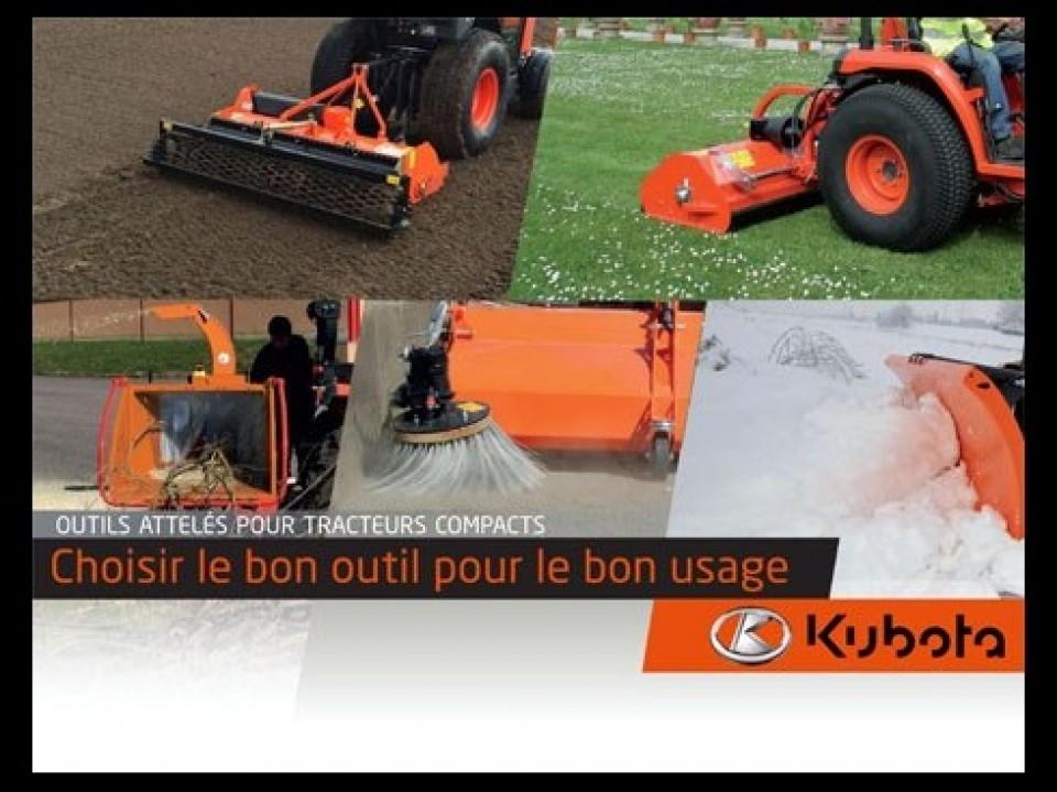 Een veelzijdige Kubota-tractor Een veelzijdige Kubota-tractor tracteur kubota polyvalent1 960x600