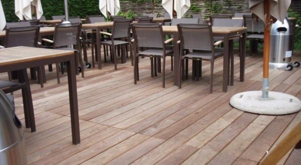 Houten terras in afromosia houten terrassen realisaties