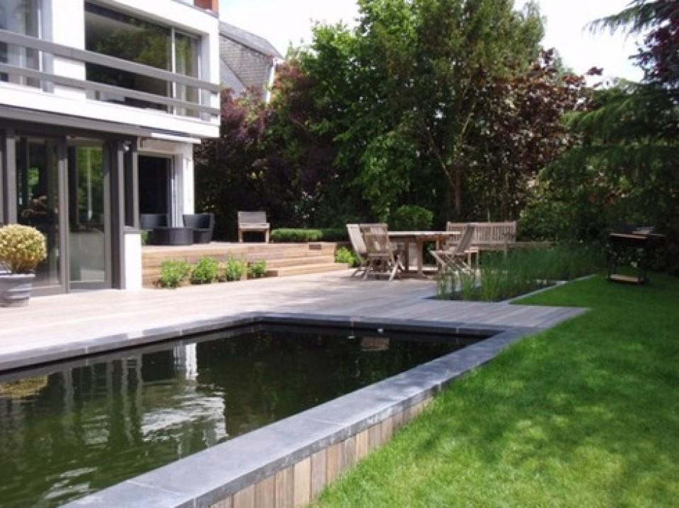 Houten Terras Houten Terras bij Geralds une terrasse en bois avec geralds3 960x600