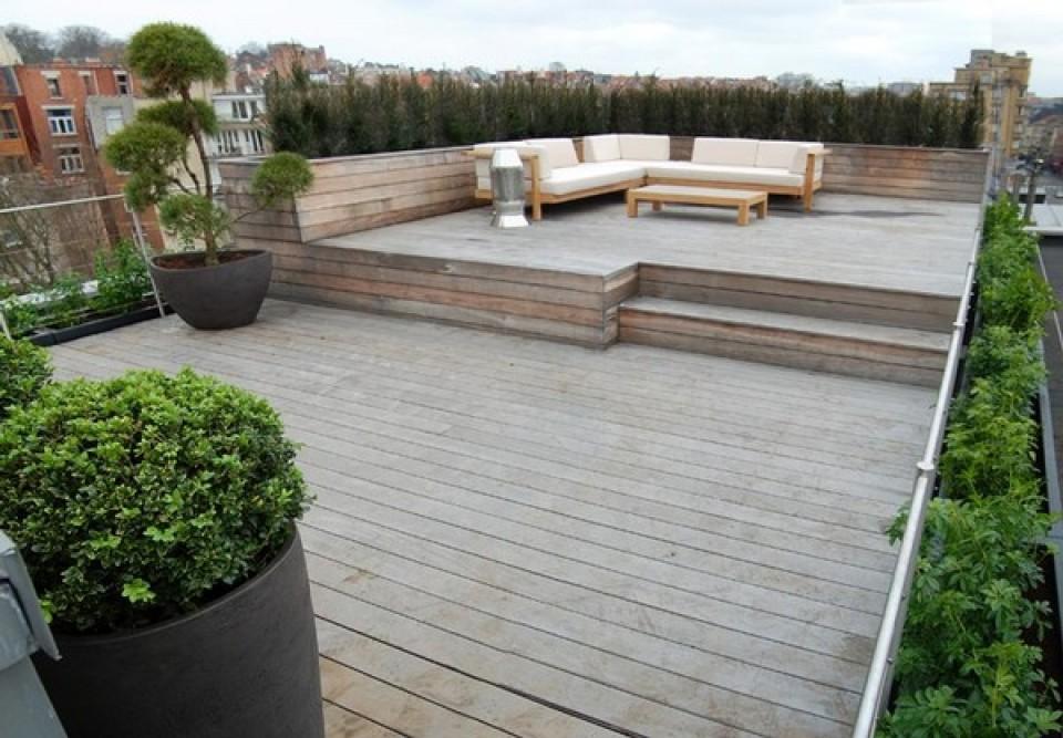 Deco tuin ontwerp: vertus zorgt voor uw dak terras en tuin garden