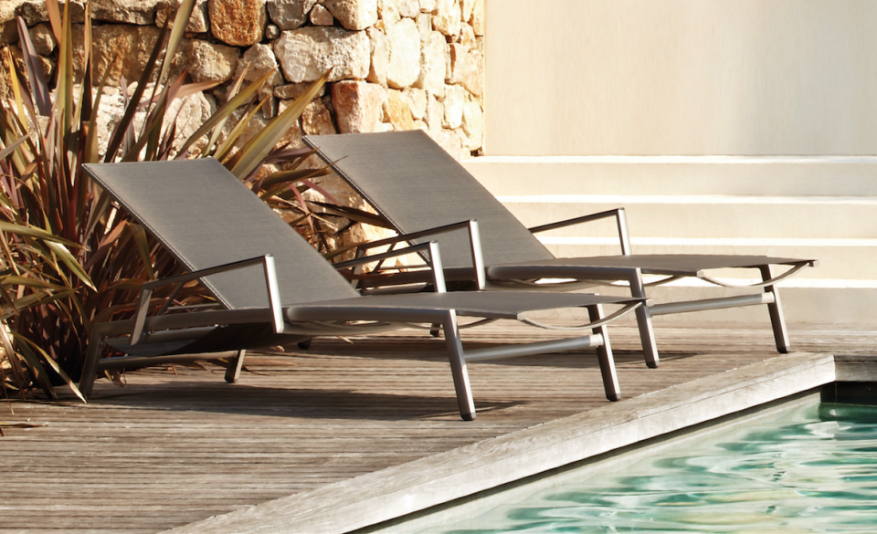 Ligstoel Tuin Aluminium : Ruimste keuze ligstoelen voor je tuin overstock garden tuinmeubelen